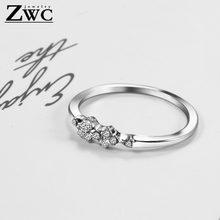 Модные индивидуальные очаровательные металлические кольца zwc