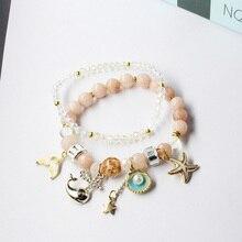 CHENFAN bohemian friendship bracelets Jewelry bead bracelet  for girls couple with charms women jewellery