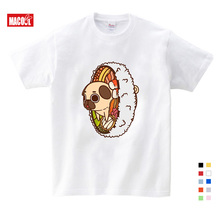 Girls Baby Clothes for Summer Dog Pals Print Tee Tops for Boy Girls Clothing Children White Cartoon Funny T-shirts 3-12 Years girls cartoon print tee