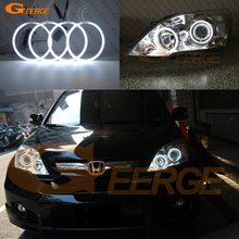 Excelente ultra brilhante ccfl anjo olhos auréola anéis kit acessórios do carro para honda CR V crv iii 2006 2007 2008 2009 2010 2011
