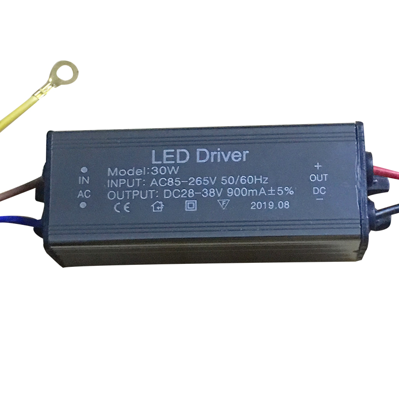 LED Driver 10W 20W 30W 50W 220mA/600MA/900MA/1500MA Power Supply Floodlight LED Driver Light Transformer IP66 Waterproof Adapter