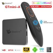 Beelink GTmini-A Android 8.1 Smart TV Box Amlogic S905X2 Set