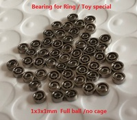 681 681K 1x3x1mm Deep groove ball bearings Miniature ring bearing toys special pulley 1*3*1 Window Rollers    -