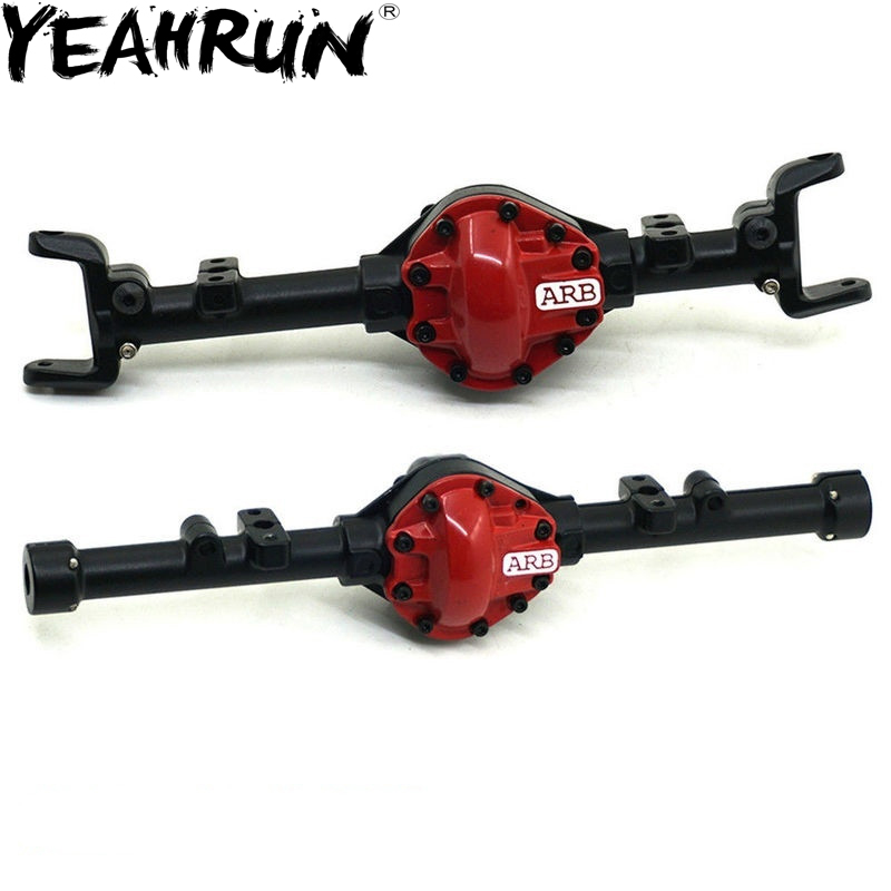 YEAHRUN ARB Edition Alloy Front Rear Axle Housing For Gelande II D90 D110 1:10 RC Crawler Truck