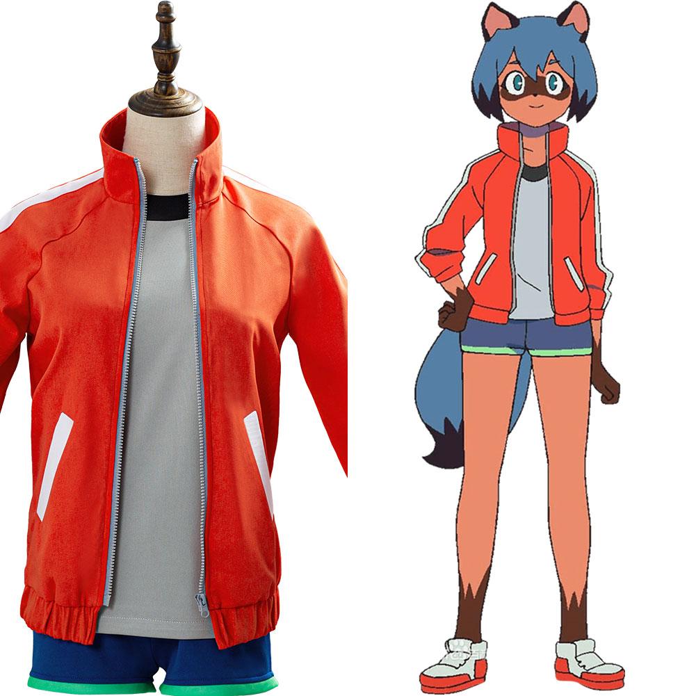 Anime Brand New Animal Bna Cosplay Kagemori Michiru Costume Unisex Jacket Shorts Outfit Halloween Carnival Anime Costumes Aliexpress