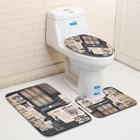 3pcs/set Bath Mat 3D...