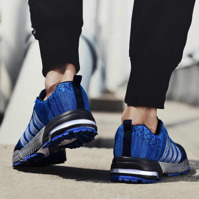 2019 Unisex yeni nefes açık erkekler koşu ayakkabıları spor hafif kadınlar için rahat atletik nefes ayakkabı rahat