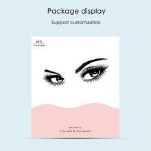 2019 New Hot Magnetic Liquid Eyeliner & Magnetic False Eyelashes & Tweezer Set Waterproof Long Lasting Eyeliner False Eyelashes