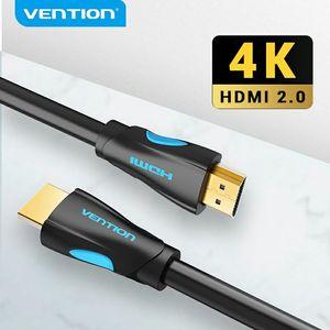 Image 1 - Vention HDMI 2.0 ケーブル HDMI 2.0 HDR 4K @ 60 60hz の HDTV スプリッタスイッチャーラップトップ PS3 プロジェクターコンピュータ 1 メートル 3 メートル 5 メートル 10 メートルのケーブル