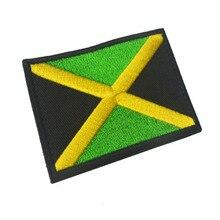 Флаги Северной Америки, Мексика, Португалия, Аргентина, ямайский дух, нашивка, тканевая этикетка, упаковка, вышитая повязка на липучке