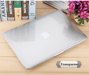 Touch ID 13Air A1932 Crystal laptop Hard Case Shell Cover For Apple Macbook Air Pro Retina Touch Bar& ID 11.6 12 13 15 16inch