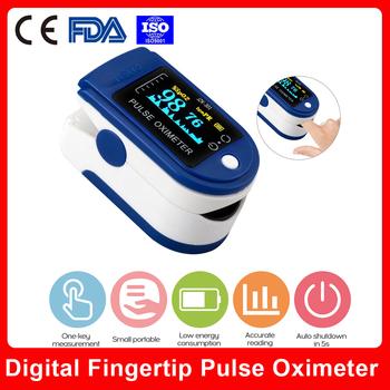Wyświetlacz OLED pulsoksymetr palca b-lood tlenowy pulsometr przenośny rodzinny pulsoksymetr podróżny tanie i dobre opinie carevas Chin kontynentalnych Ciśnienie krwi Palec