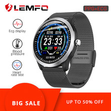 LEMFO N58 ECG PPG Smart watch men women electrocardiograph ecg display holter ecg heart rate monitor blood pressure smartwatch(China)