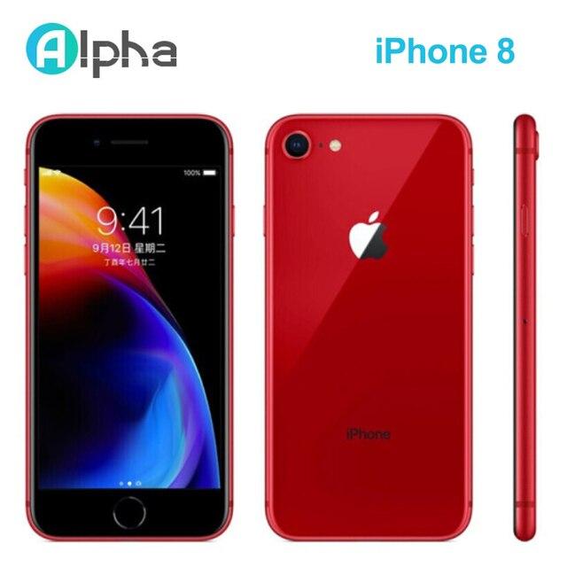 Apple iPhone 8 Used 98% New Original Unlock iPhone8 64GB/256GB 4.7 inch Hexa Core iOS Touch ID Fingerprint Mobile Phone 1821mAh 5