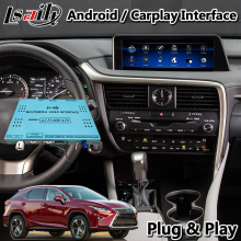 Lsailt Android Carplay Interface für Lexus RX350 RX450h RX200T RX 2013-2019 Maus Control Multimedia-Video GPS Navigation System