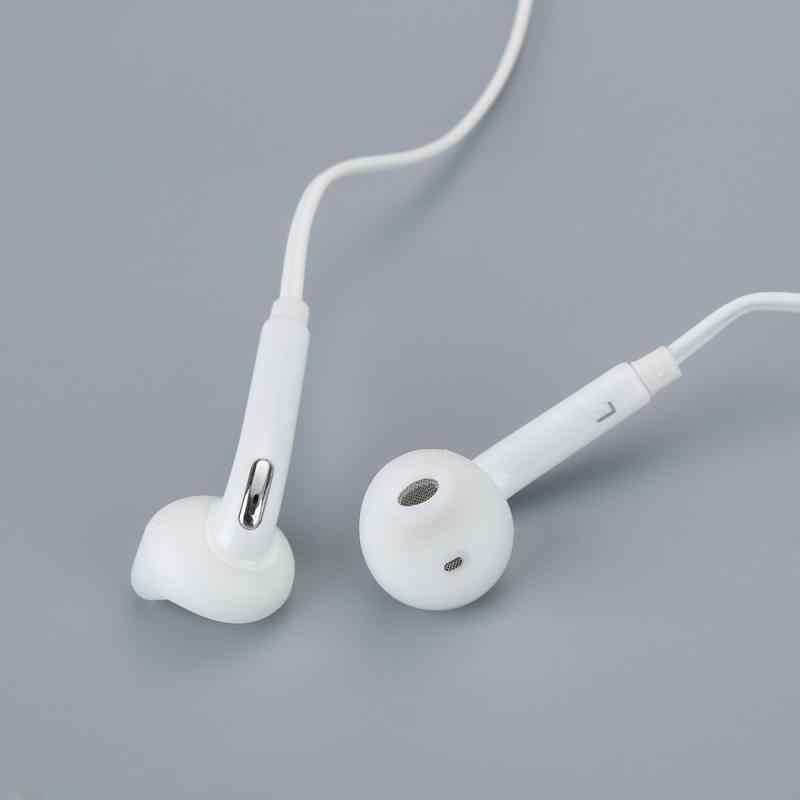 Auricular con cable de 3,5mm, estéreo HiFi bajo para Samsung Andriod S4 S5 S6 S7 S8 LG, Auriculares deportivos con micrófono