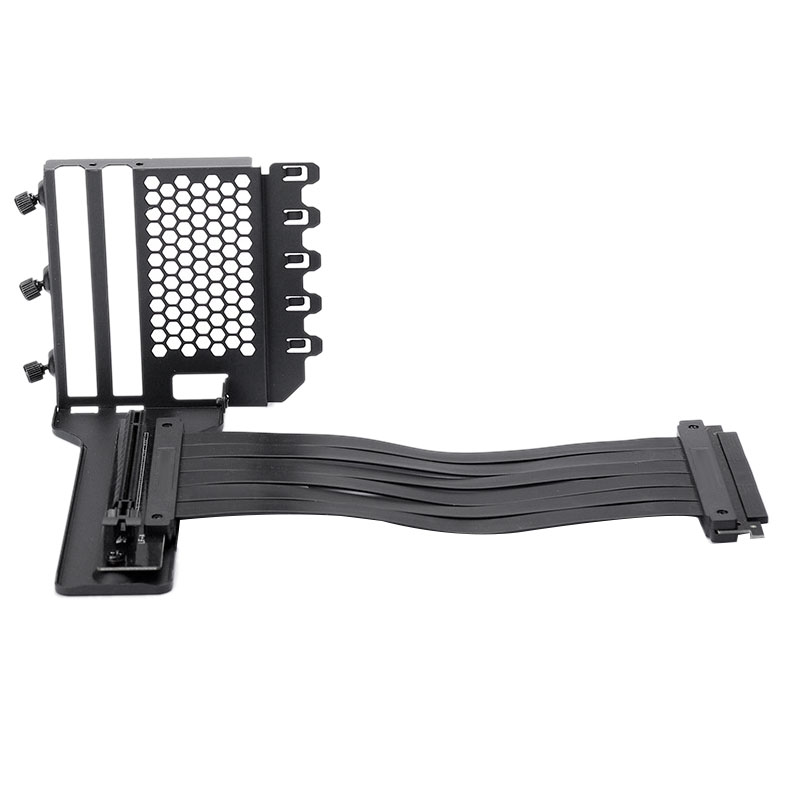 Anti Interference GPU Extension Line Computer PCI-E X16 Vertically VGA Card Bracket Set Suit 7 Slot Mount PH-VGPUKT_02