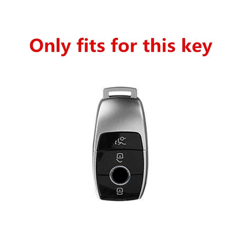 Высококачественный чехол для автомобильного ключа из ТПУ и кожи