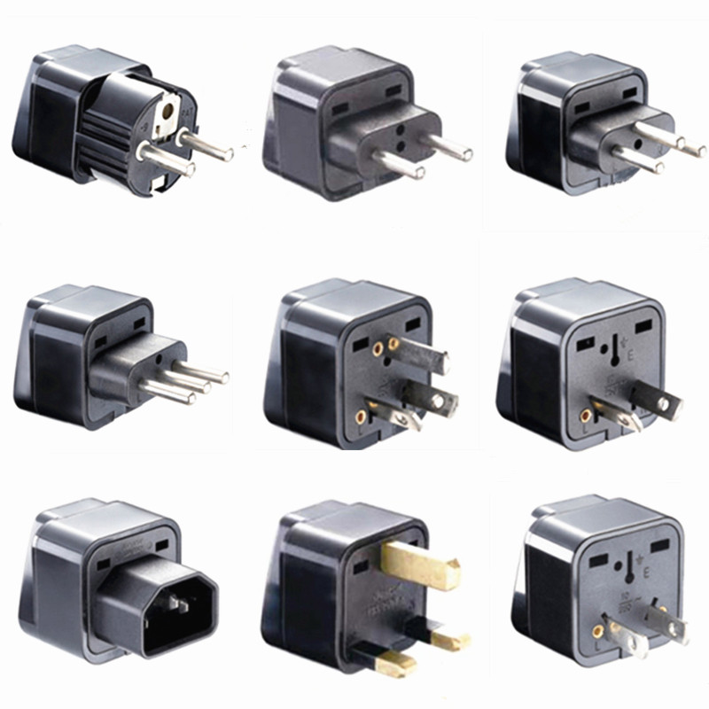 Универсальный CE Kr Американский Европейский разъем электропитания адаптер АС ЕС, США, Великобритании переходник стандарта США штекер Япони...