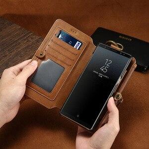 Image 2 - Bao Da Điện Thoại Cho Samsung Galaxy S20 Cực S10 E S9 S8 Plus S7 S6 Edge Ví Thẻ Dành Cho samsung Note 20 10 9 8 5 Coque