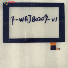 цена на Black 8 Inch touch screen P/N F-WGJ80209-V1 Capacitive touch screen panel repair and replacement parts free shipping