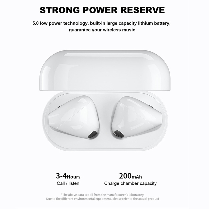 Pro 4 Bluetooth Earphone TWS Wireless Headphones HiFi Music Earbuds Sports Gaming Headset For All Smart Phone With Charging Box
