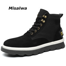 Suede-Boots Casual-Shoes Canvas Autumn Fashion Cow Spring Young Misalwa Ankle Teenage