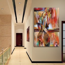 Abstract Girl Wall Art Canvas Painting Sex Beauty Nordic Poster Art Prints Wall Pictures For Living Room Home Decor Unframed nordic canvas painting abstract living room golden art wall pictures print bedroom dinning room home decor unframed poster art