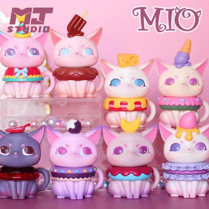 MIO Teatime Series Chocolate Mini Figure Designer Art Toy Figurine New Blind Box