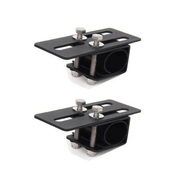 New 2pcs Universal Car Luggage Rack Mounting Bracket SUV Roof Light Bar Stand Holder image