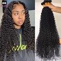 Rucycat 32 34 36 дюймов, бразильские волнистые волосы virgin (не подвергавшиеся химическому воздействию), пряди 100% Топ человеческие волосы пряди без в...
