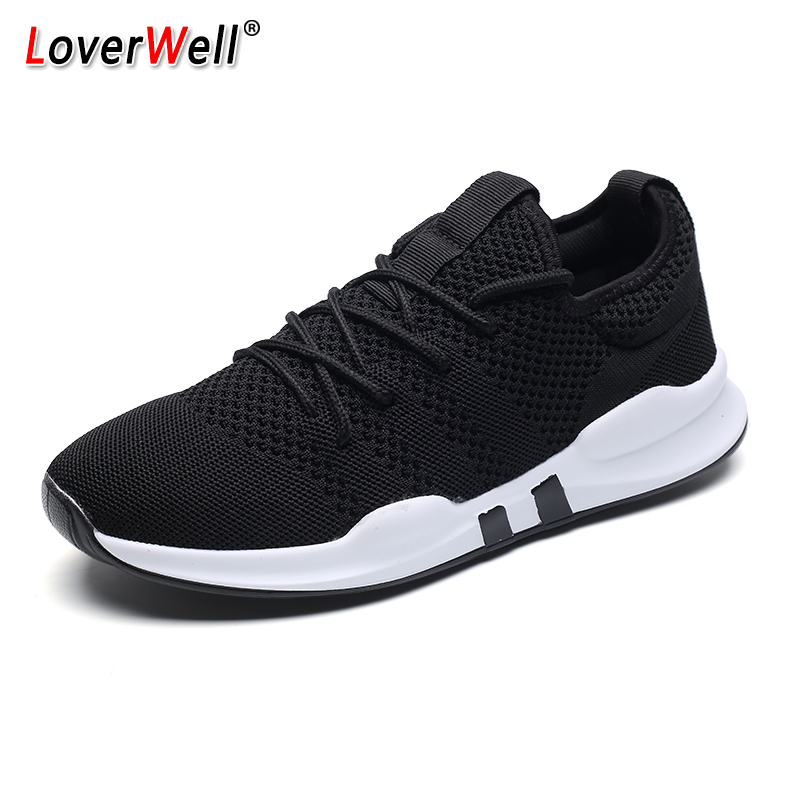 Men Sneakers Breathable Mesh Running Shoes Comfortable Outdoor Light Athletic Jogging Walking Trainers Male Footwear Plus Size