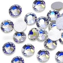 Belle lune nuit ss3-ss30, strass non correcteurs à chaud, dos plat, paillettes, pierre de verre, pour bricolage, ongles, diamant de mariage