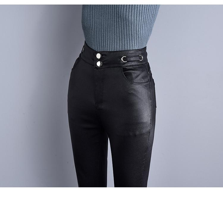 estiramento leggings marca moda feminina magro lápis calças casuais