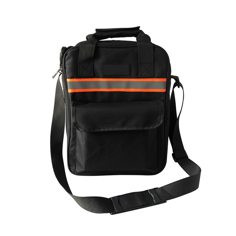 Urijk 600D Oxford Cloth Wear-resistant Portable Tool Bag Multi-function Toolkit Balck Electrician Maintenance Bags For Tool New