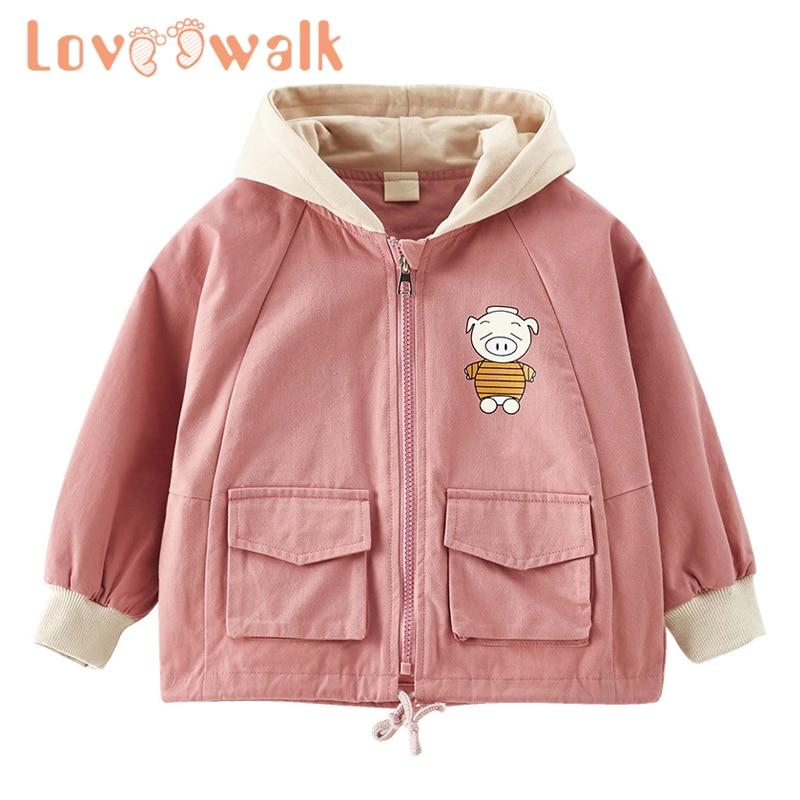 Most Wished Gift Athli Little /& Big Girls Jacket Hooded Fleece Printing Bowknot Winter Hooded Jacket Coat