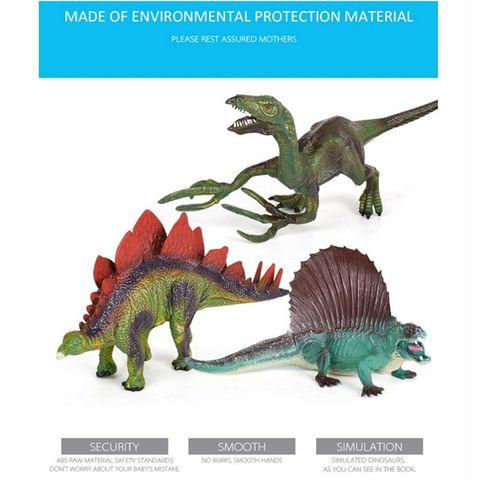 brinquedo de dinossauro figura atividade jogar esteira