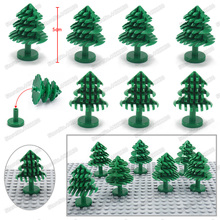 Christmas Tree Building Blocks Moc City Military Pubg Plant Block Special Forces Figures Mini Set Diy Child Gifts Toys