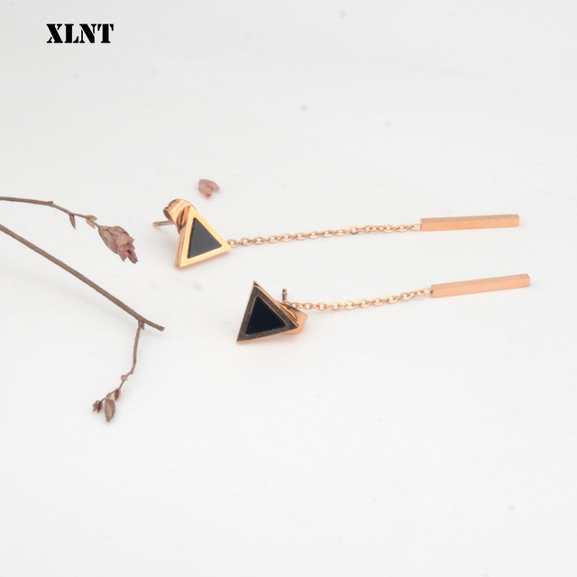 XLNT Korea Geometric Triangle Long Tassel Bar Drop Earrings For Women Minimalism Personality Ear Line Dangle.jpg 640x640 - XLNT Korea Geometric Triangle Long Tassel Bar Drop Earrings For Women Minimalism Personality Ear Line Dangle Oorbellen Gift