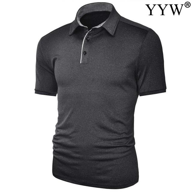 2020 New Summer Golf apparel Men's Golf T-Shirt T Comfortable Breathable Golf Short Sleeve T-Shirt 2