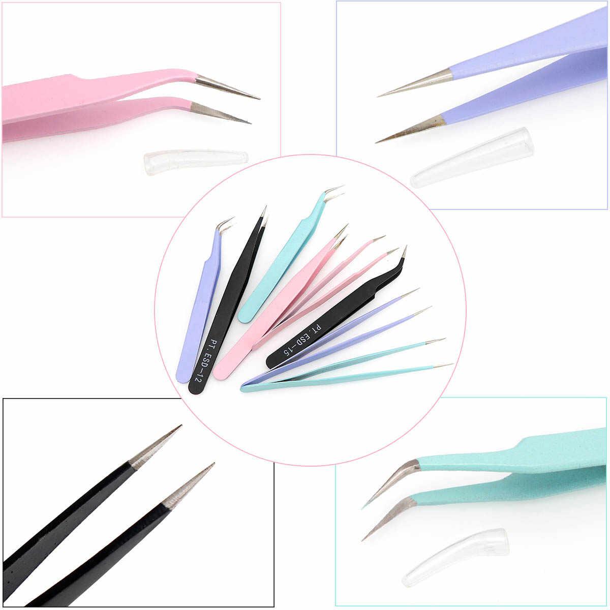 Pinzas de herramientas para joyería, alicates para punta redonda, pinzas para cortar cuentas, alicates para alambre, herramientas para cuchara DIY para fabricación de joyas