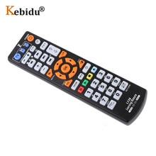 Kebidu para l336 ir inteligente controlador de controle remoto com função aprender para tv cbl dvd sat universal tv remoto