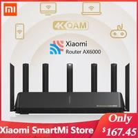 Xiaomi-enrutador AX6000 AIoT WiFi 4K QAM 6000Mbs, MU-MIMO de malla y OFDMA, señal de transmisión, amplificador de red, Router Mi Home