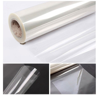 0.8x5m Clear Safety Security Film Car home Explosion Proof Membrane Film Window protection & Self adhesive Sticker Decals