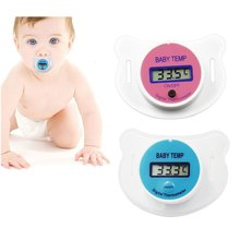 Baby Nipple Thermometer Forehead Digital ABS Temperature Measuring Tools Mouth Digital LCD Display