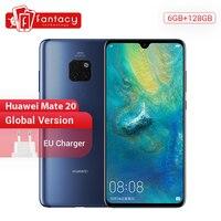 Global Version Huawei Mate 20 6G128G Smartphone 6.53 inch Mobile Phone Kirin 980 NFC Kirin 980 Octa Core EMUI 9.0 4000mAh
