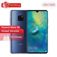 Version mondiale Huawei Mate 20 6G128G Smartphone 6.53 pouces téléphone portable Kirin 980 NFC Kirin 980 Octa Core EMUI 9.0 4000mAh