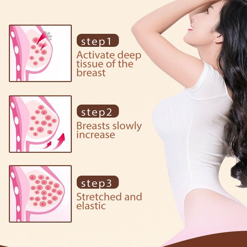 Crema per il potenziamento del seno alle erbe seno Butt Enhancer rassodante della pelle Lifting crema per il corpo elasticità seno anca Busty Sexy cura del corpo 5