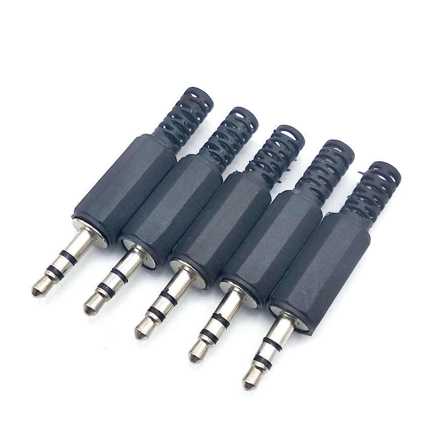 3.5mm Audio Stereo/Mono Plug jack 3.5 Man Vrouw Plug Jack Opladen Connector voor Telefoon Headset Lassen Type