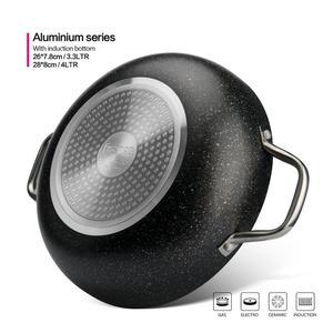 Image 3 - Fissman Promo Serie Ondiepe Pot Met Twee Kanten Handvat Non stick Coating Aluminium Dot Inductie Bodem Fornuis